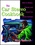 This image is copyrighted © by Ian C. Purdie VK2TIP - Book cover - The Car Stereo Cookbook