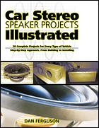 This image is copyrighted © by Ian C. Purdie VK2TIP - Book cover - Car Stereo Speaker Projects Illustrated