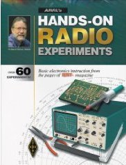 Book cover - ARRL's Hands-On Radio Experiments