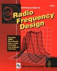 Book cover - Introduction to Radio Frequency Design