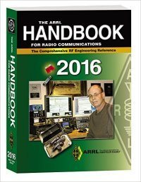 Book cover - The ARRL Handbook for Radio Amateurs 2016