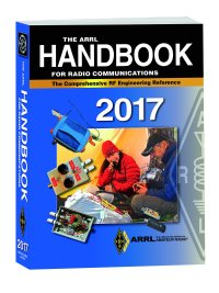 Book cover - The ARRL Handbook for Radio Amateurs 2017